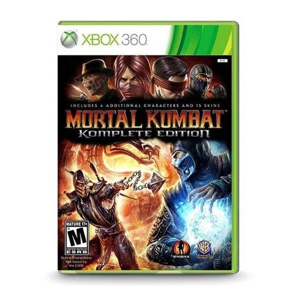 game mortal kombat komplete edition - xbox 360