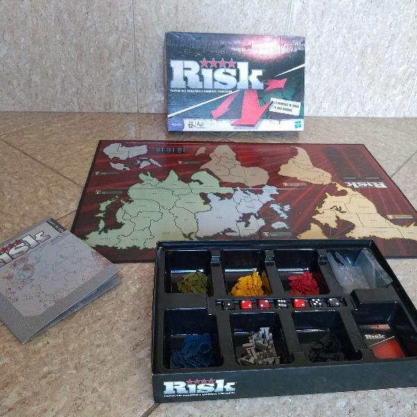 jogo de tabuleiro Risk, prepare sua estratégia e conquiste