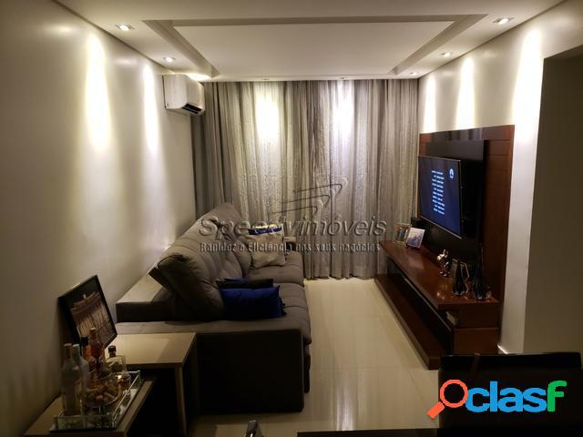 Apartamento em Santos 2 dormitórios Aparecida.