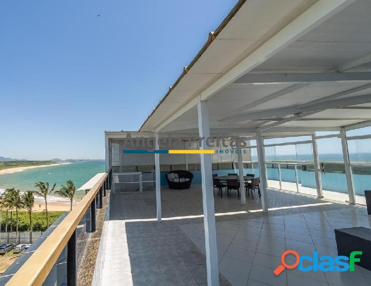 Cobertura Duplex 6 Suítes Frente Mar na Praia de Peracanga