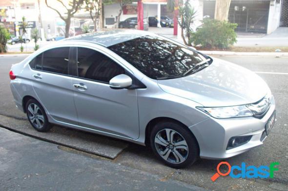 HONDA CITY SEDAN EX 1.5 FLEX AUTOM. PRATA 2015 1.5 FLEX