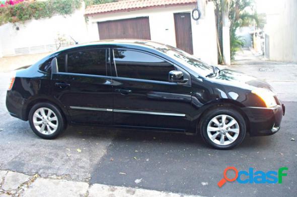 NISSAN SENTRA S 2.0 FLEX AUTOM. PRETO 2012 2.0 FLEX
