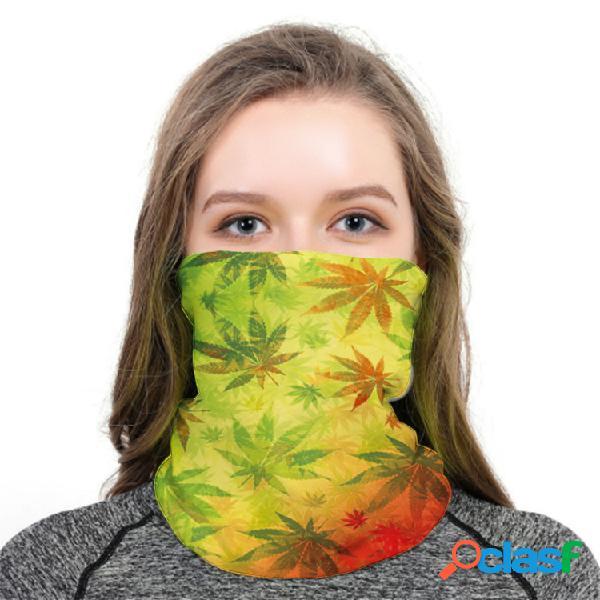 Turbante respirável leve Anti-UV Impresso Máscara Protetor