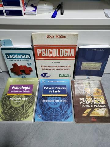 Livros para concursos de Psicólogo da Saúde ou Hospitalar
