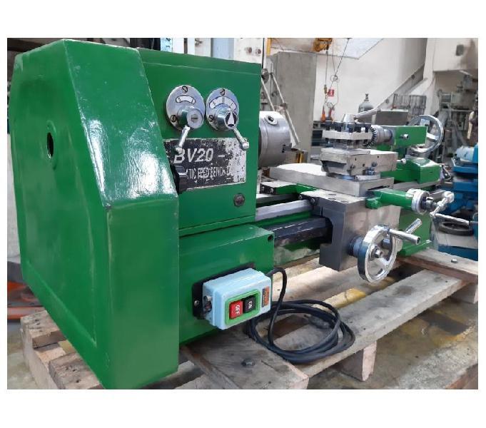 Torno Mecanico De Bancada Engrenado Bv20-1 220v Monofasico