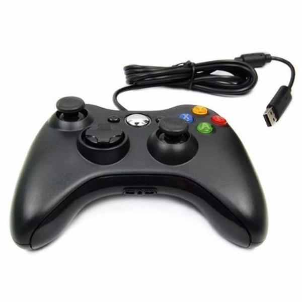 controle com fio para xbox 360 slim joystick