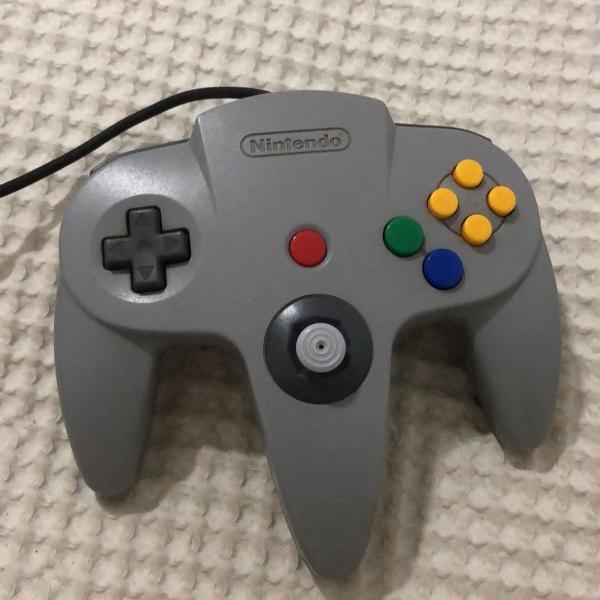 controle original nintendo 64