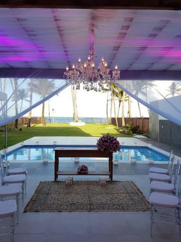 Casa para eventos e comemorações na Praia de Vilas do