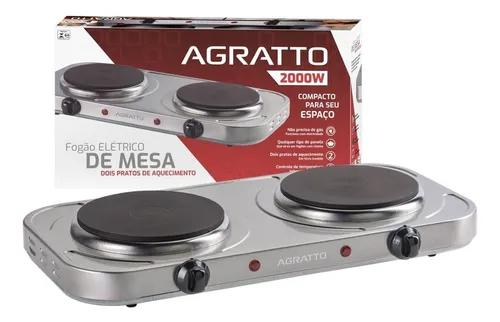 Fogao Eletrico De Mesa Agratto Fm-01 127v 2000w - 2 Pratos