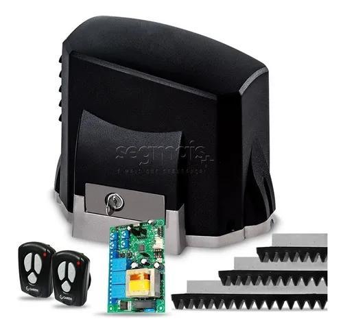 Kit Motor Portão Eletronico Deslizante Kdz Veloz 1/3hp