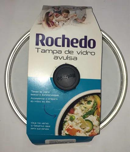 Tampa Vidro Rochedo Original P/ Vários Tipos De Panela 20