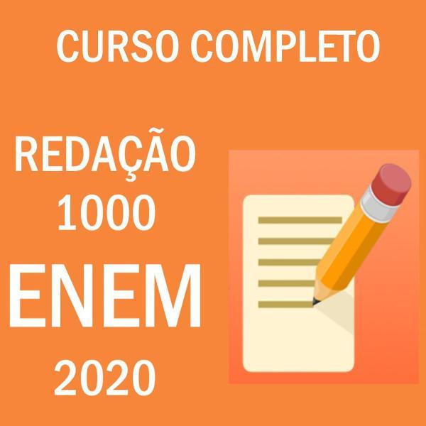 curso de redação 1000 para o enem 2020 completo
