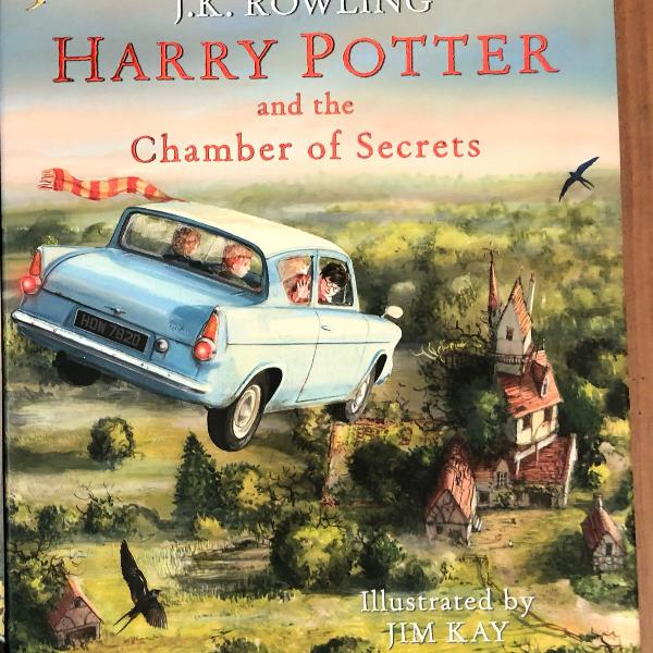 harry potter and the chamber of secrets ilustrado