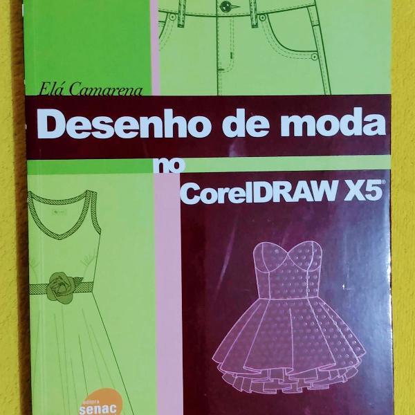 livro desenho de moda no coreldraw x5