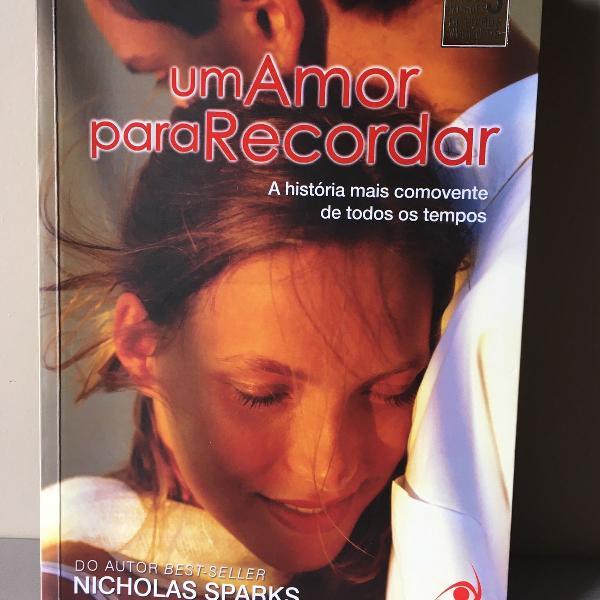 livro um amor pra recordar