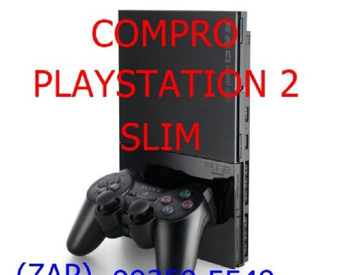 COMPRO) Playstation 2 Slim mesmo Com Defeito Pago Até