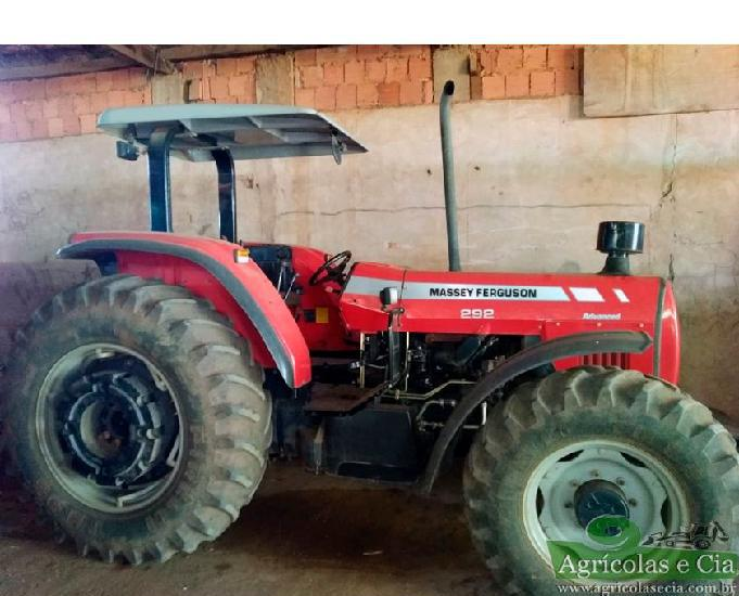 Trator Massey Ferguson 292 Advanced 4x4 Apenas 2.100 Horas!