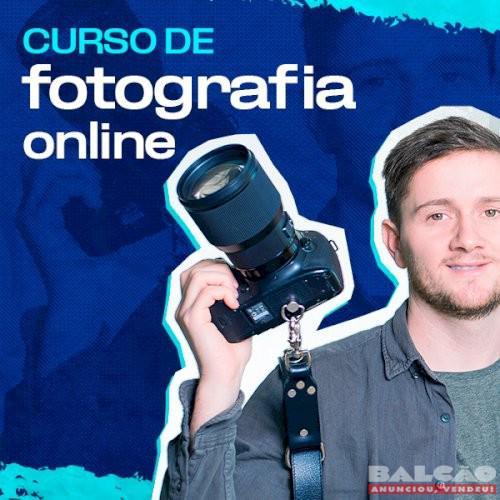 Curso de Fotografia Online com foco em iniciantes