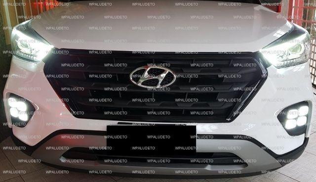 Farol De Milha Led Hyundai Creta Dupla Função