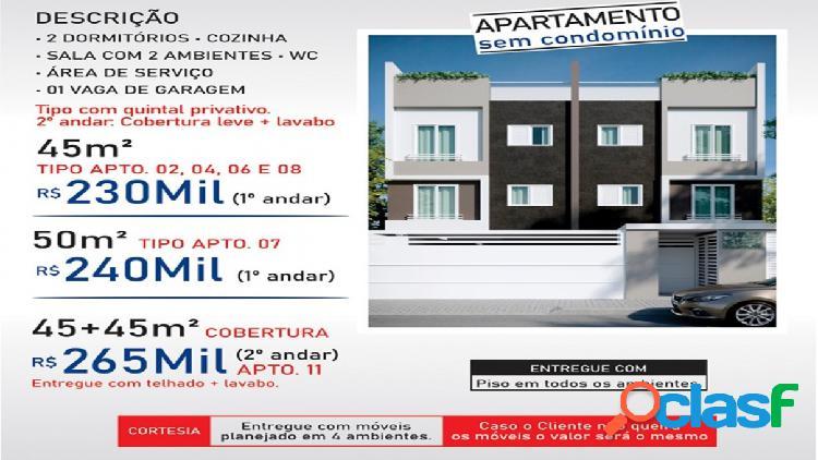 Apartamento sem Condomínio - Venda - Santo André - SP -