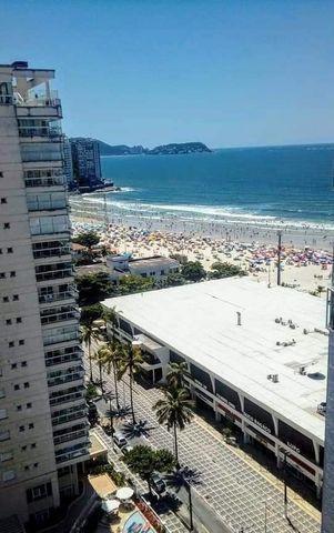 Pitangueiras Guarujá - Andar alto vista p/ mar - Pé na