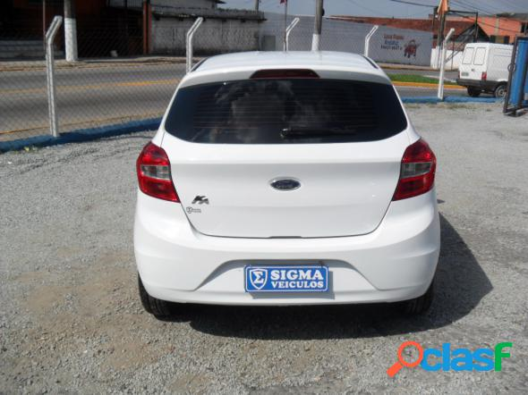 FORD KA 1.0 SESE PLUS TIVCT FLEX 5P BRANCO 2015 1.0 FLEX