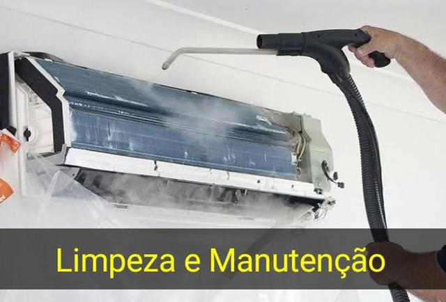 Ar condicionado - limpeza e Manutenção