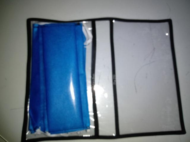 Porta Máscara + 4 máscaras TNT