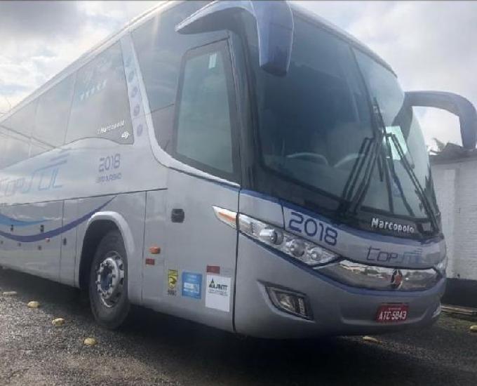 Vendo ou troco ônibus G7 por G6 motor dianteiro Mercedes