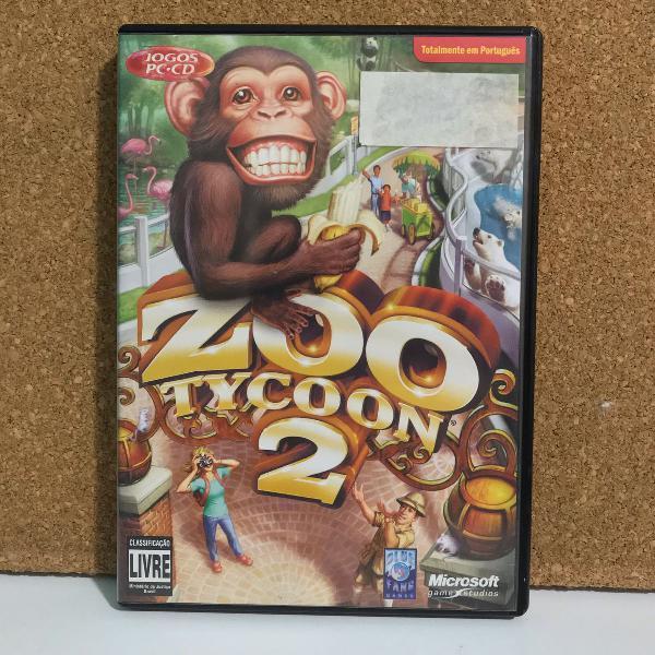 zoo tycon 2 - jogo para pc