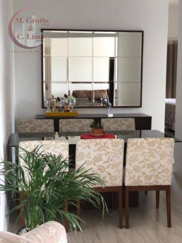 Apartamento com 3 dormitórios à venda, 77 m² por R$