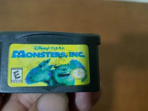 Disneys Pixar Monster Inc Genérica Game Boy Advance