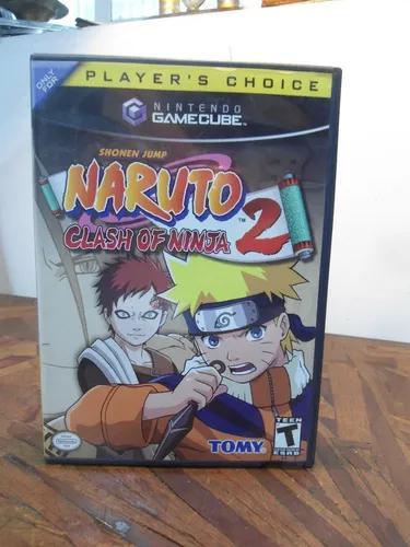 Jogo Para Nintendo Game Cube - Naruto Clash Of Ninja 2