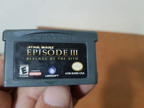 Star Wars Episode 3 Revenge Of The Sith Genérica Gba