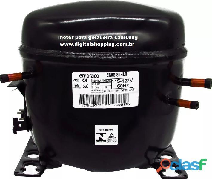 motor compressor de geladeira brastemp