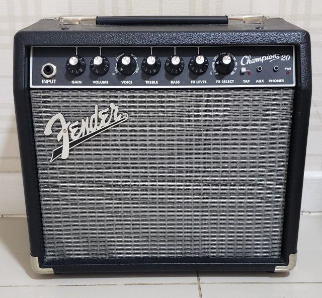 Amplificador Fender Champion 20 NOVA!