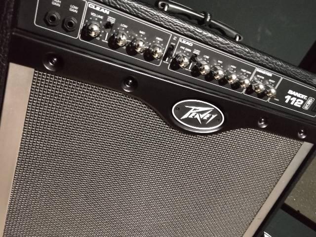 Amplificador guitarra peavey bandit 112