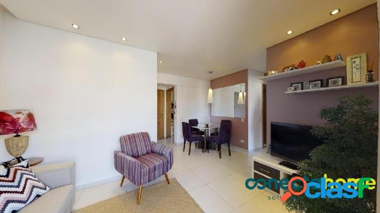 Apartamento em Vila Antonio, semi mobiliado, 61 m², 2