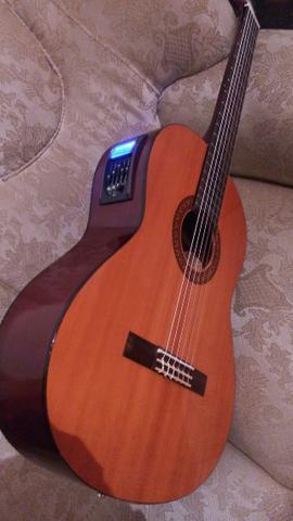 Barateza - violão Yamaha elétrico+ capa