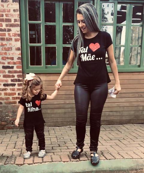 Camisetas Tal Mãe Tal Filha