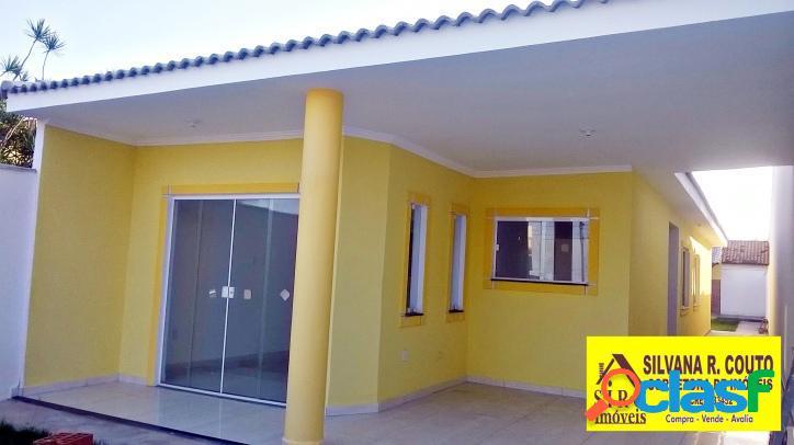 Casa na praia em Itaipuaçu- 3 qts R$ 380 mil