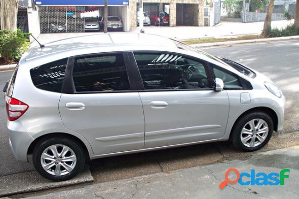 HONDA FIT LX 1.4 FLEX AUTOM. PRATA 2013 1.4 FLEX