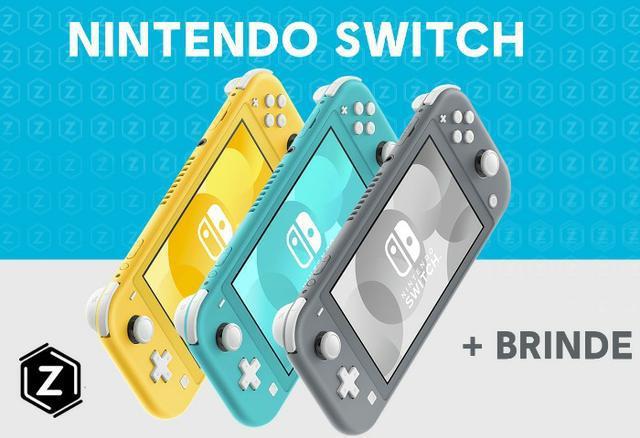 Nintendo Switch Novo + Brinde - 12x no cartão - Loja