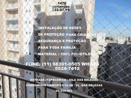 Redes de Proteção no Campo Limpo, (11) 5524-7412