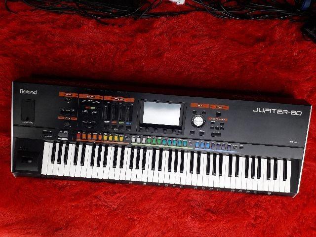 Roland Jupiter 80 Teclado Sintetizador Novo C/ntf E Garantia