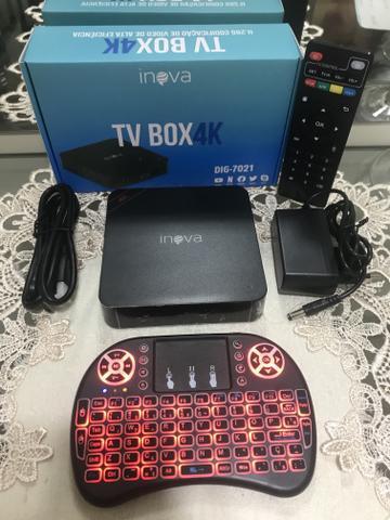 Ultra 4k TV Box 4GB Ram 5G ++ Teclado Mouse