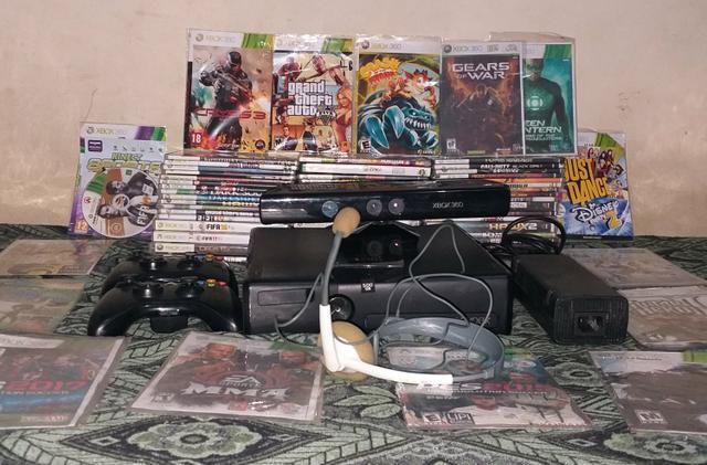 Xbox 360 + Kinect Desbloqueado