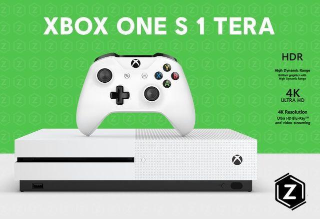 Xbox One S 1 Tb - Novo - Loja Física Garantia 6 Meses