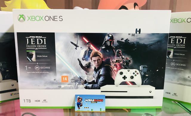 Xbox one s 1tb lacrado com nota e garantia. Venha conhecer