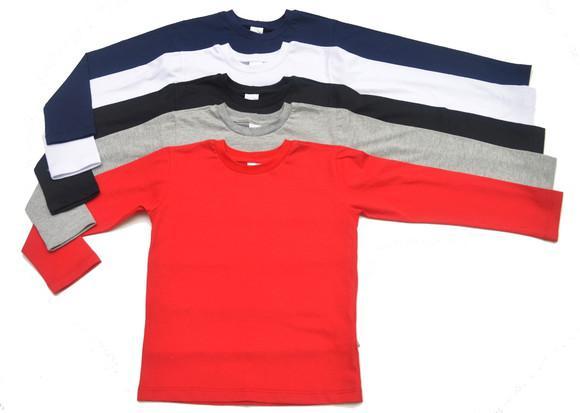 kit 5 camisetas manga longa Infantil tamanho 2 3 4 6 8.